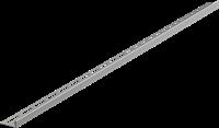 Pейка AlcaPlast для пола с уклоном APZ903M/1000 Левое, 1м, Толщина плитки 12мм,