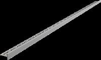 Pейка AlcaPlast для пола с уклоном APZ904M/1000 Правое, 1м, Толщина плитки 12мм,