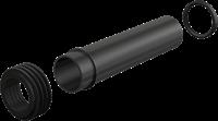 Прокладка + вывод + гофрированная прокладка 45/58/25 AlcaPlast M901