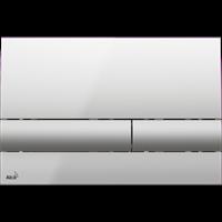 Кнопка смыва AlcaPlast M1713 хром - глянцевая/матовая