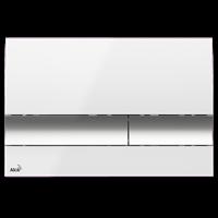 Кнопка смыва AlcaPlast M1720-1 белая