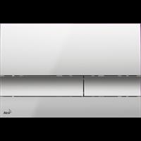 Кнопка смыва AlcaPlast M1722 хром - матовая