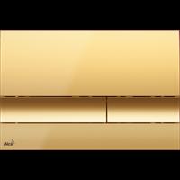 Кнопка смыва AlcaPlast M1725 золотая