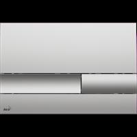 Кнопка смыва AlcaPlast M1732 хром - матовая