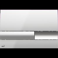 Кнопка смыва AlcaPlast M1741 хром - глянцевая