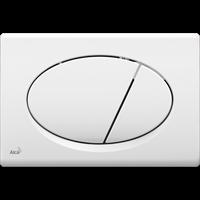 Кнопка смыва AlcaPlast M70 белая