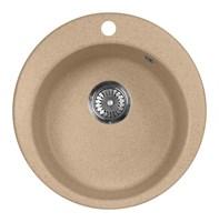 Мойка кухонная AquaGranitEx M-05 (302) песочный