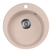 Мойка кухонная AquaGranitEx M-05 (315) розовый