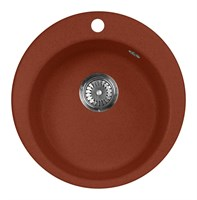 Мойка кухонная AquaGranitEx M-05 (334) красный марс