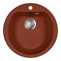 Мойка кухонная AquaGranitEx M-07 (334) красный марс