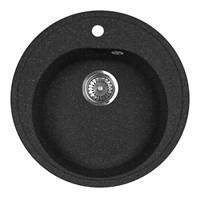 Мойка кухонная AquaGranitEx M-08 (308) черный