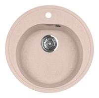 Мойка кухонная AquaGranitEx M-08 (315) розовый