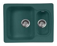 Мойка кухонная AquaGranitEx M-09 (305) зеленый