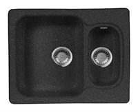 Мойка кухонная AquaGranitEx M-09 (308) черный