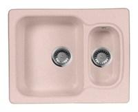 Мойка кухонная AquaGranitEx M-09 (315) розовый