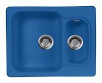 Мойка кухонная AquaGranitEx M-09 (323) синий