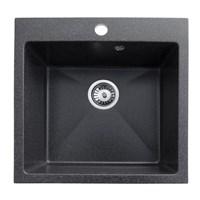 Гранитная мойка AquaGranitEx M-31 (308) черный