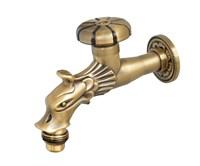 Сливной кран длинный Bronze de luxe (насадка-рассекатель) (21601)