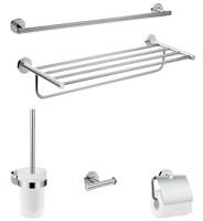 Комплект аксессуаров для ванной комнаты Hansgrohe Logis Universal 41728000 Хром